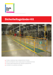 Flyer - KWIK KIT Sicherheitsgeländer Kit thumbnail